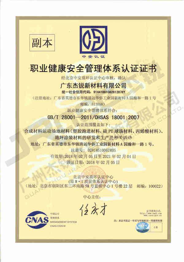 广东杰锐ISO职业健康安全管理体系OHAS18001副本证书.jpg